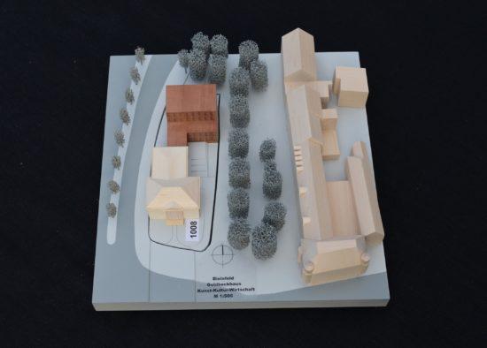 Modell des 1. Preises Dohle+Lohse Architekten GmbH, Braunschweig.
