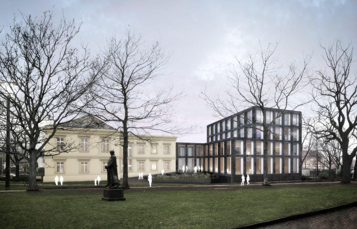 Visualisierung des 1. Preises Dohle+Lohse Architekten GmbH, Braunschweig.